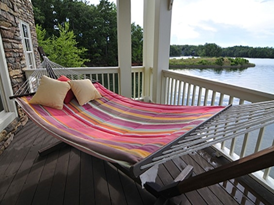 Lake Martin is truly a place you can kick your feet up and relax