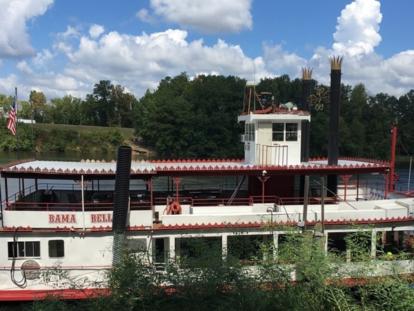 Bama Belle along the Black Warrior River