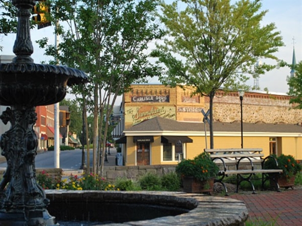Historic Downtown Alexander City is a picturesque little town with great shops and restaurants