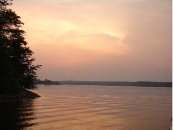 Beautiful sunsets on Lake Wedowee