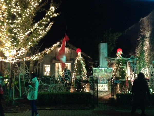 Fairhope at Christmas