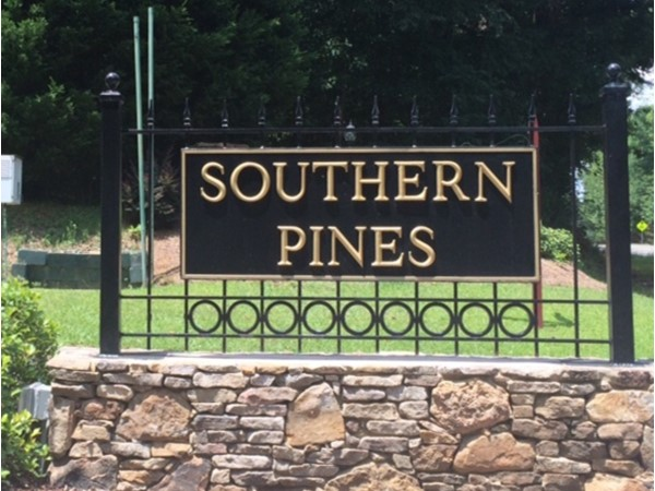 Southern Pines Subdivision is in the award winning Oak Mountain Schools District