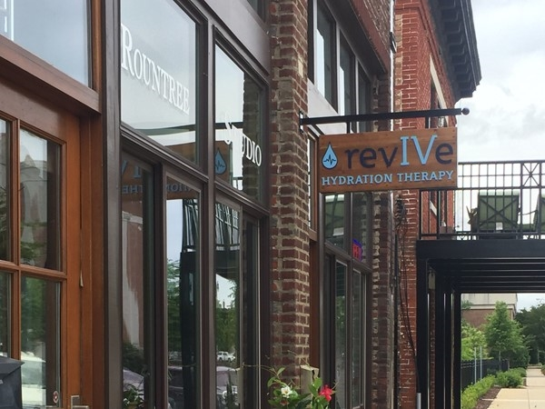 Revive Hydration is a great stop for a wellness treatment