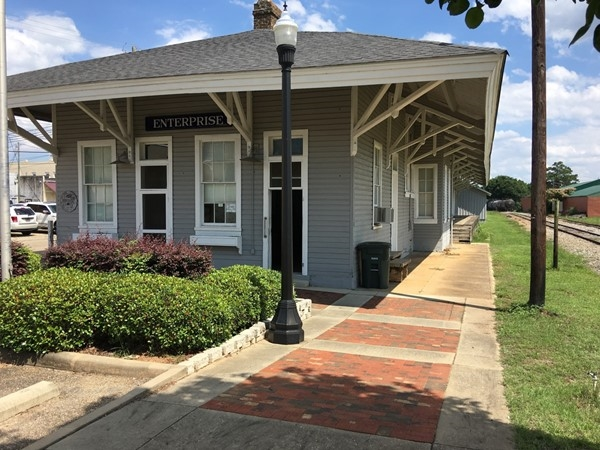 Depot Museum featuring the history of Enterprise. Open Thursday-Saturday 10:00 a.m. - 3:30 p.m.