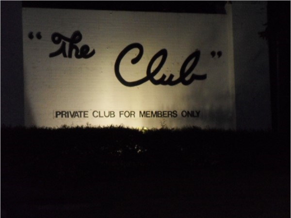 "Welcome to ""The Club"""