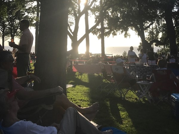 It was a beautiful 4th of July along the Eastern Shore in Fairhope