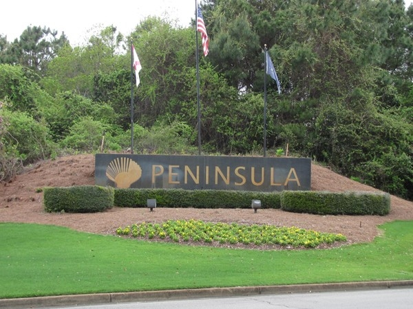 The Peninsula....a beautiful setting in which to live!