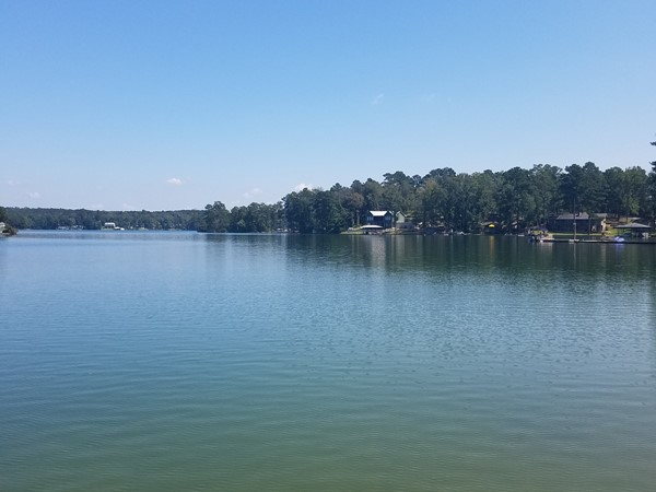 Beautiful day on Lake Martin