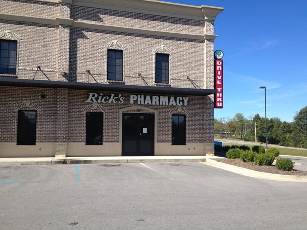 Rick's Pharmacy on Jeff Road at Nick Davis
