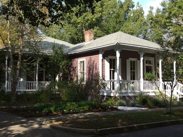 A nice shaded home on Monroe Street