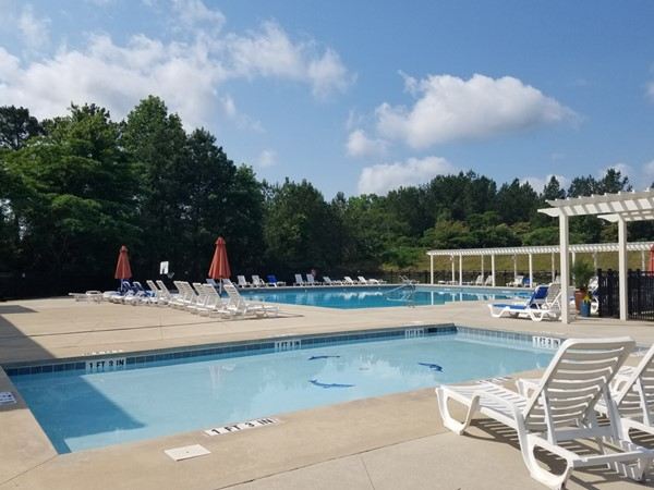Lake Cyrus club pool