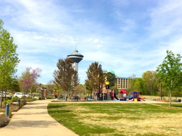 Playground and Splash Pad are located adjacent to the Marriott Shoals