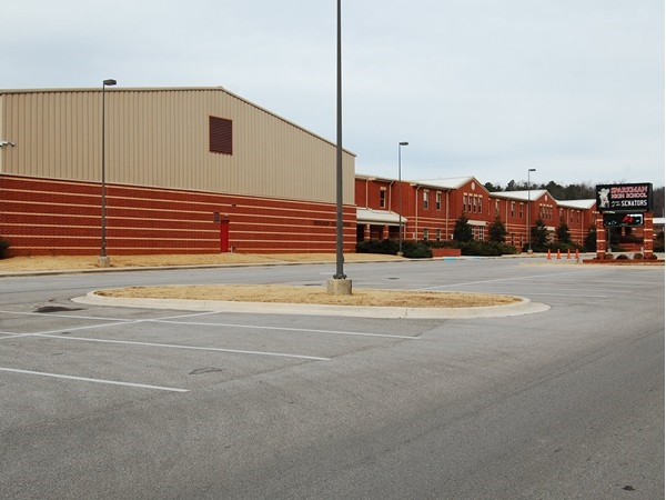 Sparkman High School on Jeff Road