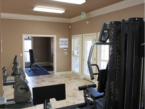 Get your fitness on at Ballantrae's 24-Hour Fitness Center. Free to residents!