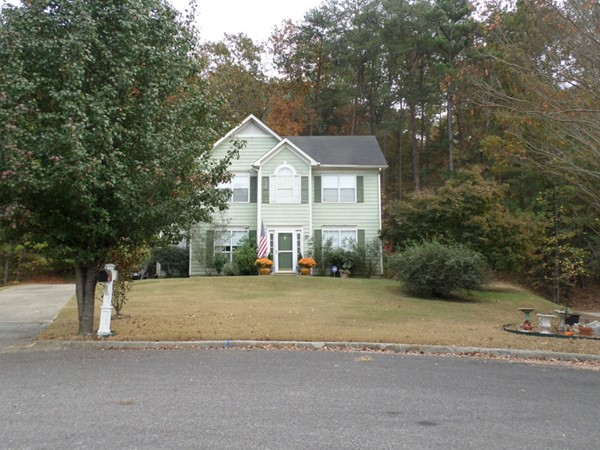Two story home in Carriage Hill