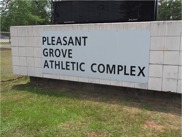 Welcome to Pleasant Grove Athletic Complex