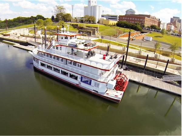 Harriot II on the River Walk in Downtown Montgomery