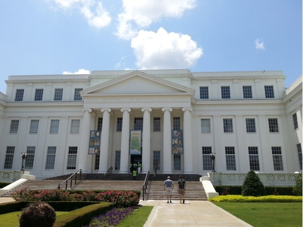 Alabama Archives building.  Awesome exhibits of Alabama's history.