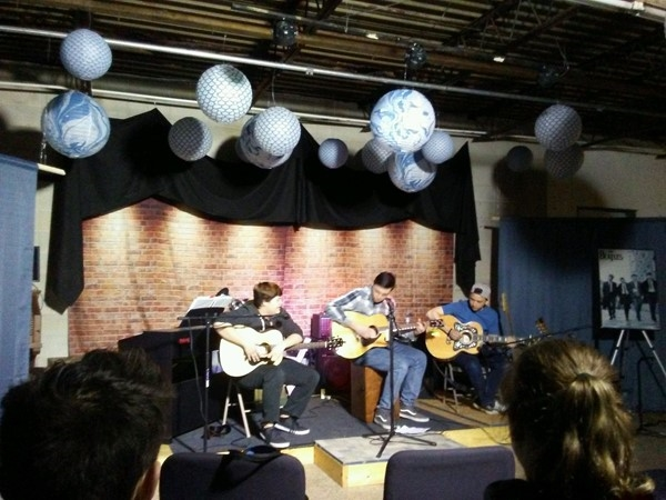 Open Mic Night at Hoobler Music on the last Friday of the month