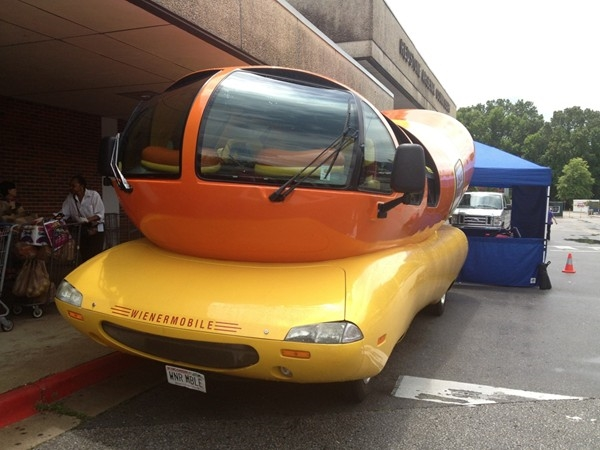 Oscar Mayer Weinermobile at RSA