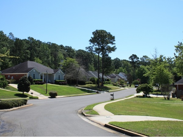 Street scene from Oakridge Subdivision
