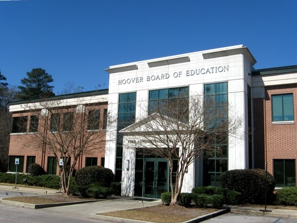 Hoover Board of Education Administrative building