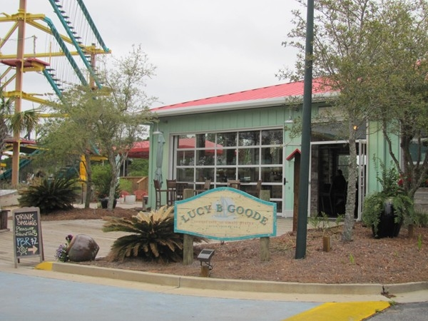 One of our fav restaurants! Lucy B. Goode, where everything is fresh, local and made from scratch!
