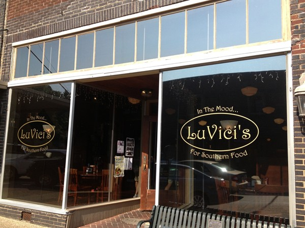 Lu Vici's in downtown Athens for tremendous southern food
