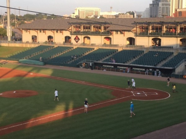 The Biscuits Baseball Stadium is great family fun