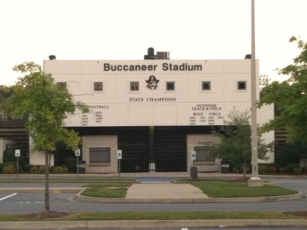 Buccaneer Stadium...Go BUCS!!!!!