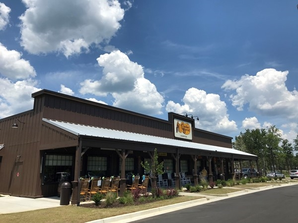 New Cracker Barrel in Saraland along I-65 now open