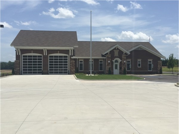 Owens Cross Roads/ Hampton Cove has a new Huntsville Fire Station 19 to better protect the city