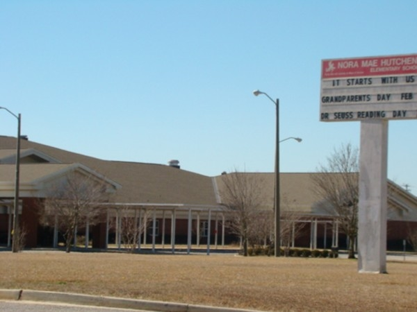 Hutchens Elementary School is across the street from Summer Woods.