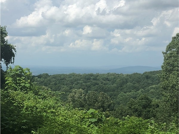 Views from the cabins at Monte Sano State Park