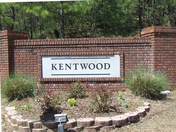 Entrance to Kentwood in Alabaster