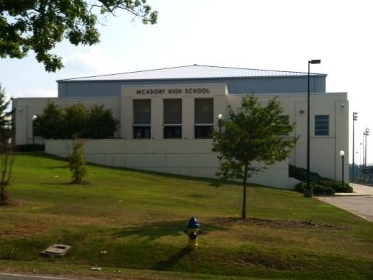 McAdory High School in McCalla