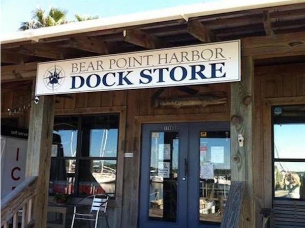 The Dock Store at Bear Point Harbor