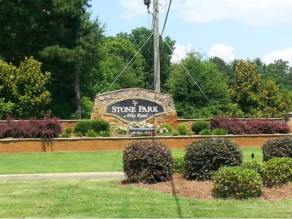 Welcome to Stone Park at Pike Road