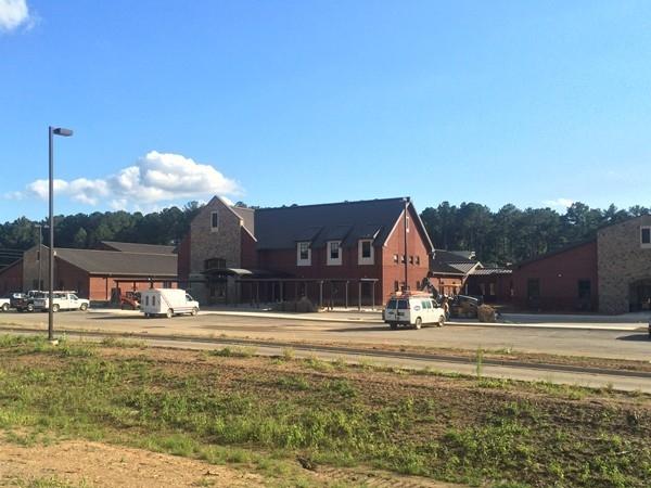 The new Forest Oaks Elementary School in Chelsea opening in late 2013 (K-5)