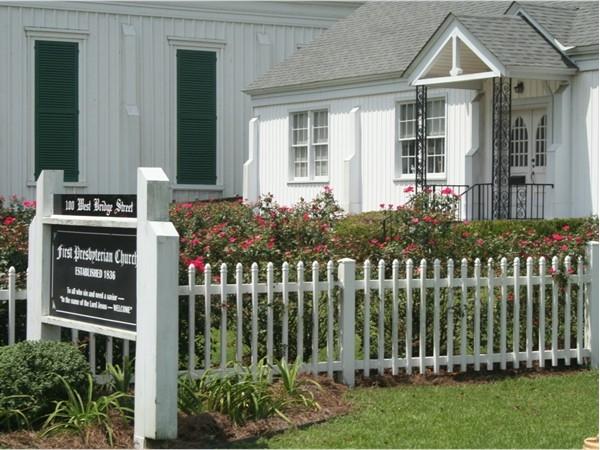 First Presbyterian Church established in 1936