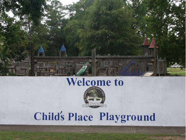 Child's Place Playground. Family, friends, and fun!