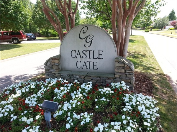 Castle Gate is a community in the eastern sector of Heritage Plantation in Madison
