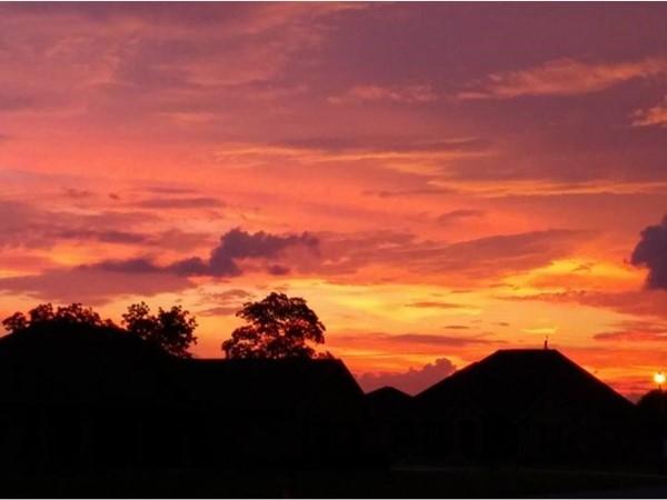 Beautiful Gulf Coast sunrise