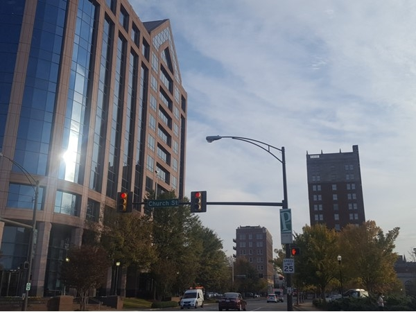 Enjoying the views throughout Downtown Huntsville