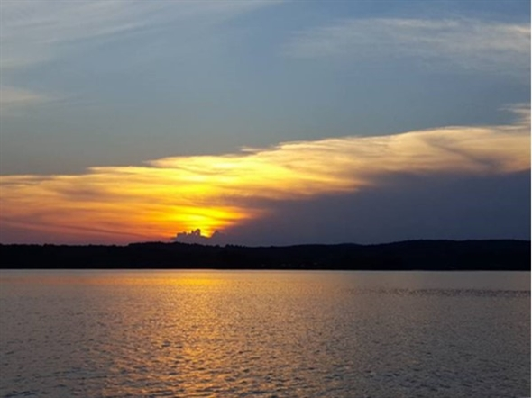 A beautiful ending to a perfect day on Lake Wedowee