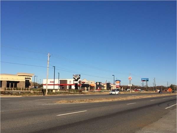 Hazel Green Walmart and eateries near Fowler Creek