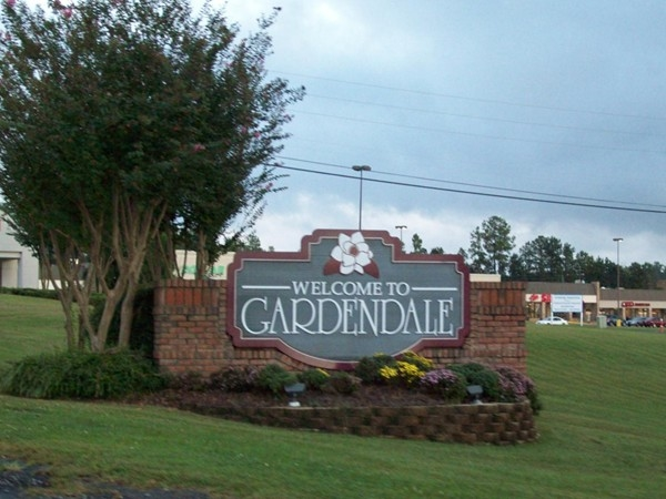 Welcome to Gardendale - I65 Exit