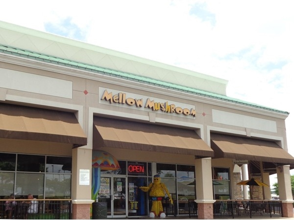 Mellow Mushroom located off of Taylor and Vaughn