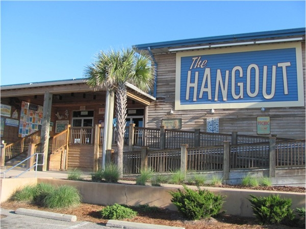 My wife and I enjoy taking our grands to The Hangout!!  Great kiddie & adult food! Great live music!