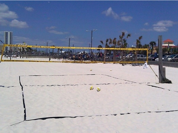 My favorite beach volleyball spot. I've been visiting this spot to play for over 20 years now